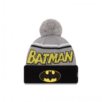 NEW ERA CAP ENTERTAINMENT COLLECTION BATMAN JUMBO CHEER KNIT Sales