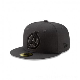 NEW ERA CAP ENTERTAINMENT COLLECTION AVENGERS ENDGAME GRAPHITE TONAL 59FIFTY FITTED Sales