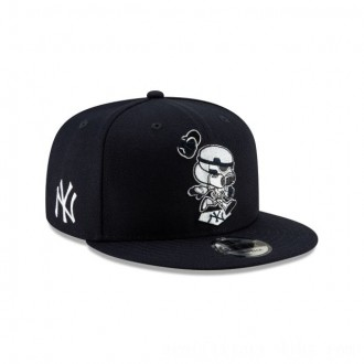 NEW ERA CAP MLB x STAR WARS COLLECTION NEW YORK YANKEES STORMTROOPER 9FIFTY SNAPBACK Sales