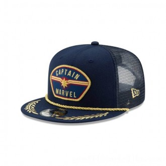 NEW ERA CAP ENTERTAINMENT COLLECTION CAPTAIN MARVEL PATCH 9FIFTY SNAPBACK Sales