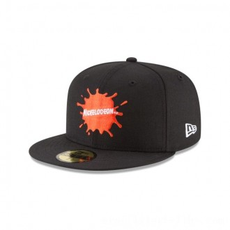 NEW ERA CAP ENTERTAINMENT COLLECTION NICKELODEON SPLATTER LOGO 59FIFTY FITTED Sales