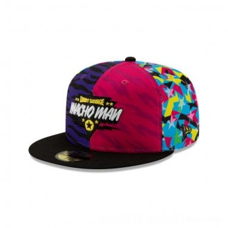 NEW ERA CAP WORLD WRESTLING ENTERTAINMENT MACHO MAN RANDY SAVAGE WWE 59FIFTY FITTED Sales
