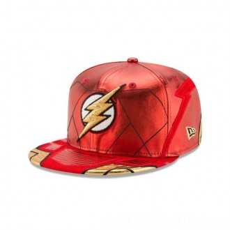 NEW ERA CAP ENTERTAINMENT COLLECTION FLASH JUSTICE LEAGUE 59FIFTY FITTED Sales