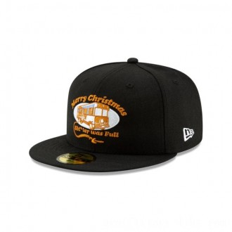 Black Friday 2020 NEW ERA CAP HOLIDAY COLLECTION CHRISTMAS VACATION TRAILER BLACK 59FIFTY FITTED Sales