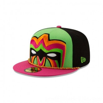 NEW ERA CAP WORLD WRESTLING ENTERTAINMENT ULTIMATE WARRIOR WWE 59FIFTY FITTED Sales