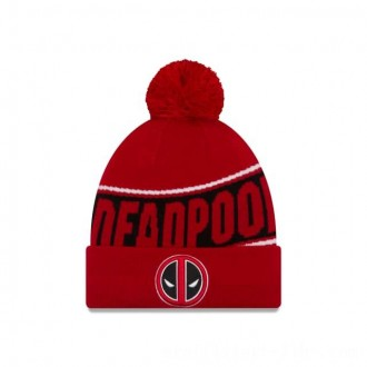 NEW ERA CAP ENTERTAINMENT COLLECTION DEADPOOL CUFF KNIT Sales