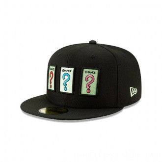 NEW ERA CAP MONOPOLY COLLECTION MONOPOLY CHANCE 59FIFTY FITTED Sales