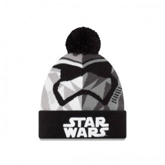 Black Friday 2020 NEW ERA CAP ENTERTAINMENT COLLECTION KIDS STORM TROOPER STAR WARS THE LAST JEDI KNIT CAP Sales