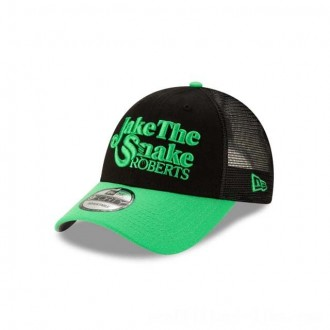 NEW ERA CAP WORLD WRESTLING ENTERTAINMENT JAKE THE SNAKE ROBERTS TRUCKER 9FORTY ADJUSTABLE Sales