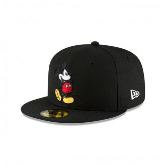 NEW ERA CAP MICKEY MOUSE COLLECTION MICKEY MOUSE BLACK 59FIFTY FITTED Sales