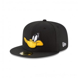 NEW ERA CAP LOONEY TUNES COLLECTION DAFFY DUCK LOONEY TUNES 59FIFTY FITTED Sales