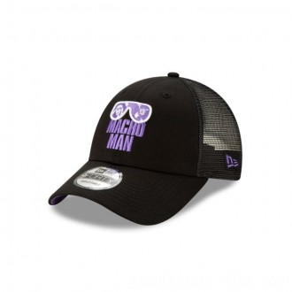 NEW ERA CAP WORLD WRESTLING ENTERTAINMENT MACHO MAN RANDY SAVAGE TRUCKER 9FORTY ADJUSTABLE Sales