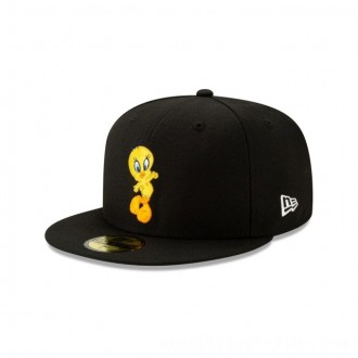 NEW ERA CAP LOONEY TUNES COLLECTION TWEETY BIRD LOONEY TUNES 59FIFTY FITTED Sales