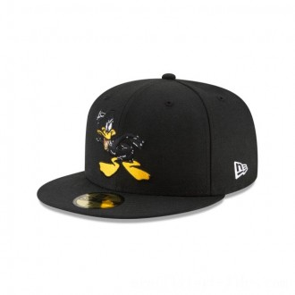 Black Friday 2020 NEW ERA CAP LOONEY TUNES COLLECTION DAFFY DUCK POSE LOONEY TUNES 59FIFTY FITTED Sales