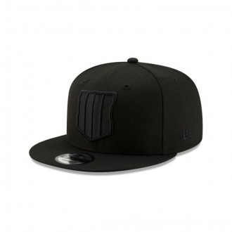 NEW ERA CAP ENTERTAINMENT COLLECTION CALL OF DUTY: BLACK OPS 4 BLACK ON BLACK 9FIFTY SNAPBACK Sales