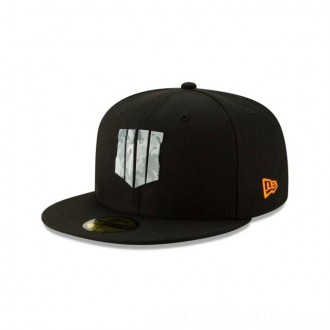 NEW ERA CAP ENTERTAINMENT COLLECTION CALL OF DUTY: BLACK OPS 4 CAMO BADGE 59FIFTY FITTED Sales