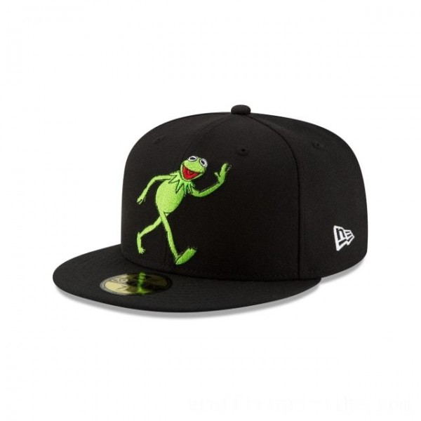 NEW ERA CAP ENTERTAINMENT COLLECTION KERMIT MUPPETS  59FIFTY FITTED Sales