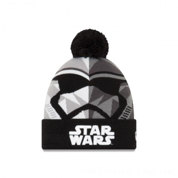 NEW ERA CAP ENTERTAINMENT COLLECTION STORM TROOPER STAR WARS THE LAST JEDI KNIT CAP Sales