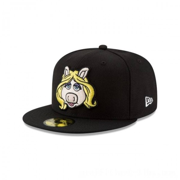 NEW ERA CAP ENTERTAINMENT COLLECTION MISS PIGGY MUPPETS 59FIFTY FITTED Sales