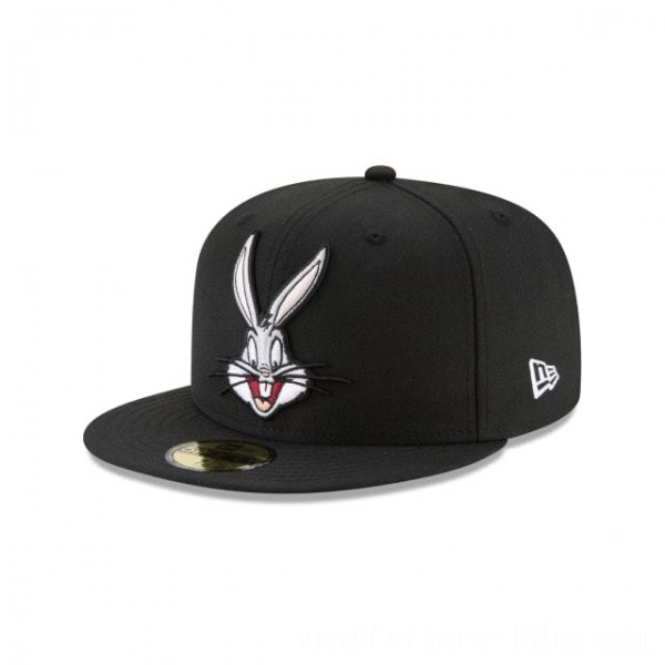 NEW ERA CAP LOONEY TUNES COLLECTION BUGS BUNNY LOONEY TUNES 59FIFTY FITTED Sales