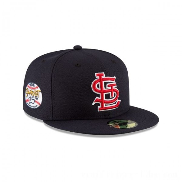 NEW ERA CAP SANDLOT 25TH ANNIVERSARY COLLECTION ST. LOUIS CARDINALS SANDLOT 25TH ANNIVERSARY 59FIFTY FITTED Sales