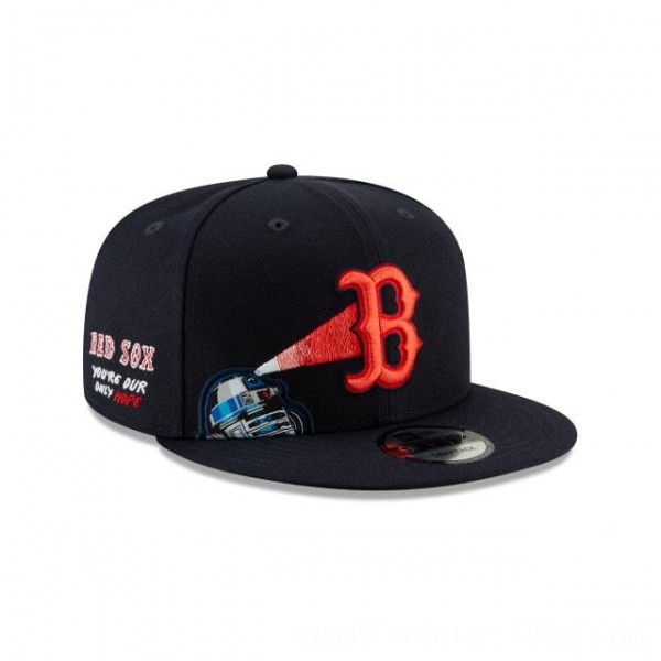 NEW ERA CAP MLB x STAR WARS COLLECTION BOSTON RED SOX R2-D2 9FIFTY SNAPBACK Sales