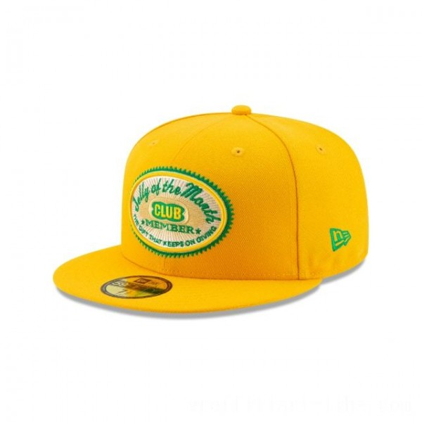 NEW ERA CAP HOLIDAY COLLECTION CHRISTMAS VACATION JELLY CLUB YELLOW 59FIFTY FITTED Sales