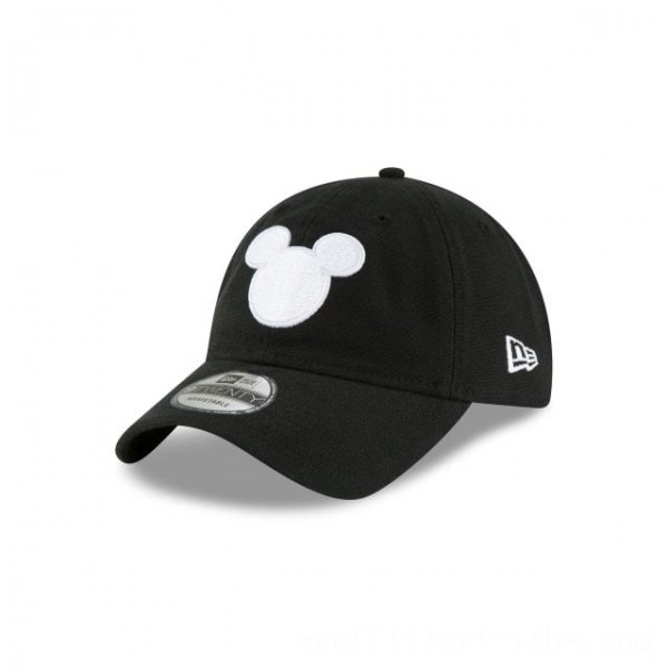 NEW ERA CAP MICKEY MOUSE COLLECTION MICKEY MOUSE BLACK AND WHITE 9TWENTY ADJUSTABLE Sales