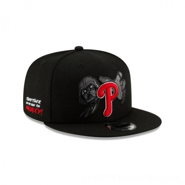 NEW ERA CAP MLB x STAR WARS COLLECTION PHILADELPHIA PHILLIES DARTH VADER 9FIFTY SNAPBACK Sales