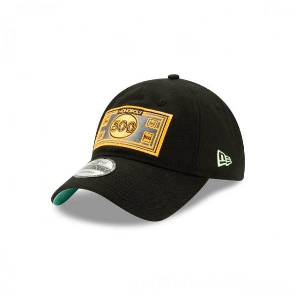NEW ERA CAP MONOPOLY COLLECTION MONOPOLY 500 DOLLAR BILL 9TWENTY ADJUSTABLE Sales