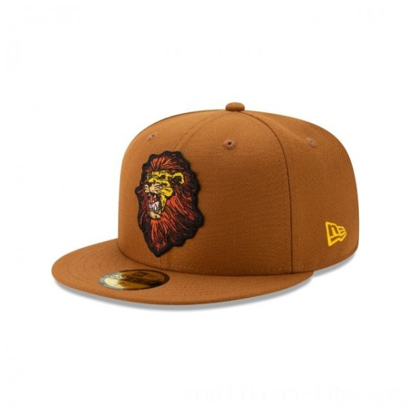 NEW ERA CAP THE LION KING MUFASA 59FIFTY FITTED Sales