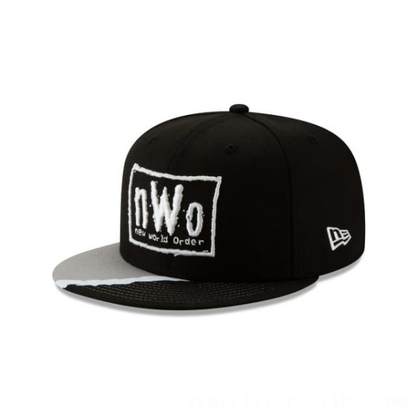 NEW ERA CAP WORLD WRESTLING ENTERTAINMENT NEW WORLD ORDER 59FIFTY FITTED Sales