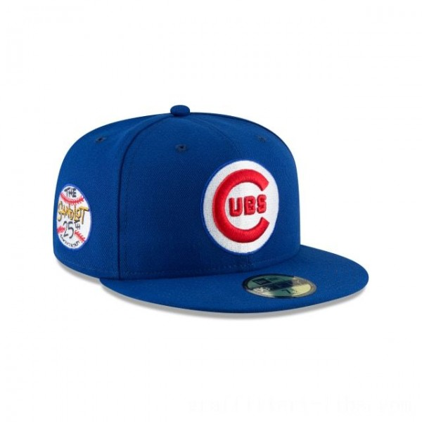 NEW ERA CAP SANDLOT 25TH ANNIVERSARY COLLECTION CHICAGO CUBS SANDLOT 25TH ANNIVERSARY 59FIFTY FITTED Sales