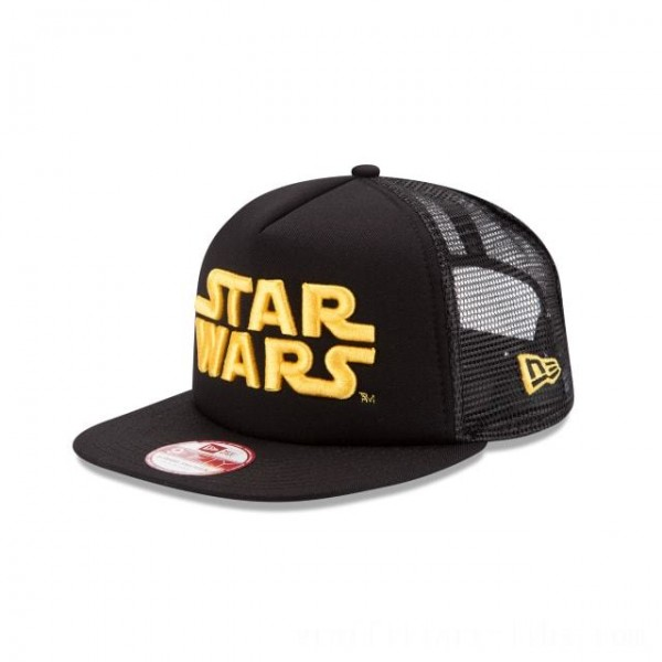 NEW ERA CAP ENTERTAINMENT COLLECTION STAR WARS BASIC MESH 9FIFTY SNAPBACK Sales