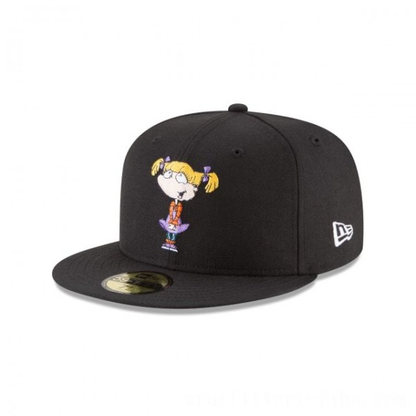 NEW ERA CAP ENTERTAINMENT COLLECTION ANGELICA RUGRATS NICKELODEON 59FIFTY FITTED Sales