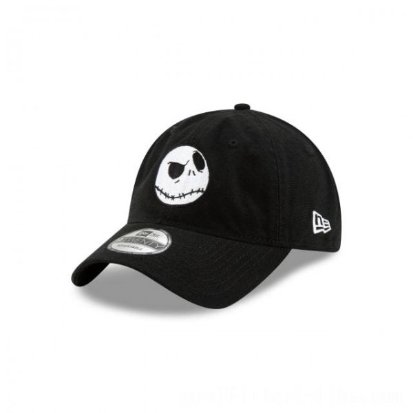 NEW ERA CAP NIGHTMARE BEFORE CHRISTMAS COLLECTION JACK SKELLINGTON NIGHTMARE BEFORE CHRISTMAS 9TWENTY ADJUSTABLE Sales