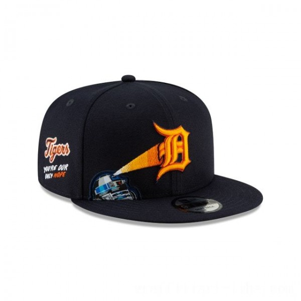 NEW ERA CAP MLB x STAR WARS COLLECTION DETROIT TIGERS R2-D2 9FIFTY SNAPBACK Sales