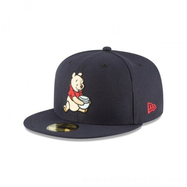 NEW ERA CAP WINNIE THE POOH COLLECTION WINNIE THE POOH NAVY 59FIFTY FITTED Sales