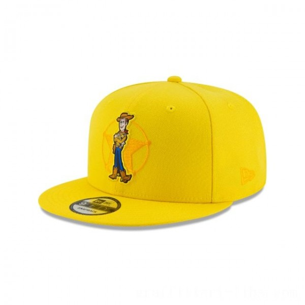 NEW ERA CAP ENTERTAINMENT COLLECTION WOODY BADGE TOY STORY KIDS 9FIFTY SNAPBACK Sales