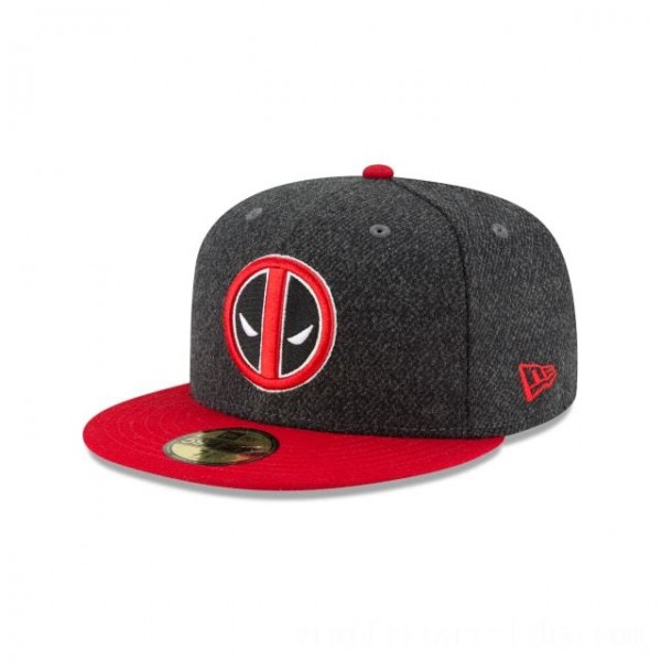 NEW ERA CAP ENTERTAINMENT COLLECTION DEADPOOL CLASSIC TRIM 59FIFTY FITTED Sales