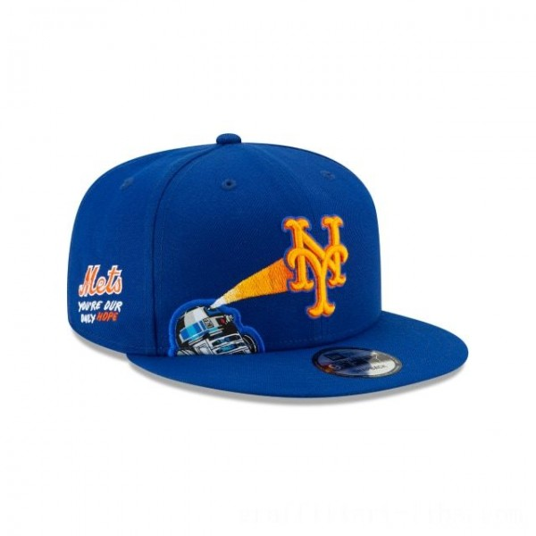 NEW ERA CAP MLB x STAR WARS COLLECTION NEW YORK METS R2-D2 9FIFTY SNAPBACK Sales