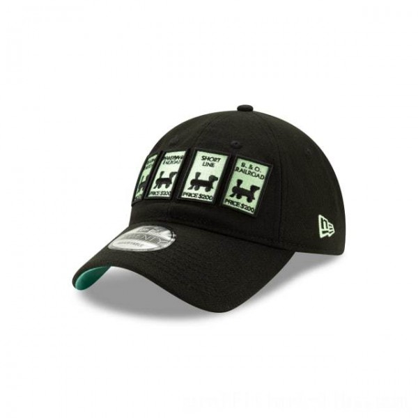 NEW ERA CAP MONOPOLY COLLECTION MONOPOLY RAILROAD 9TWENTY ADJUSTABLE Sales