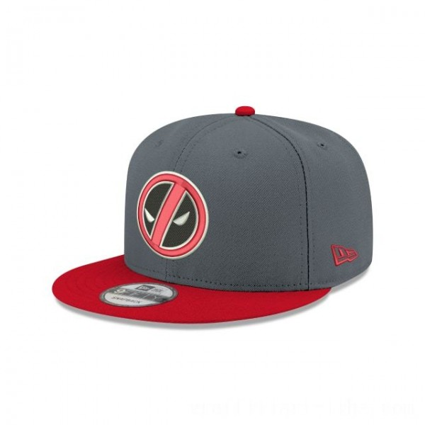 NEW ERA CAP ENTERTAINMENT COLLECTION DEADPOOL SLASH 9FIFTY SNAPBACK Sales