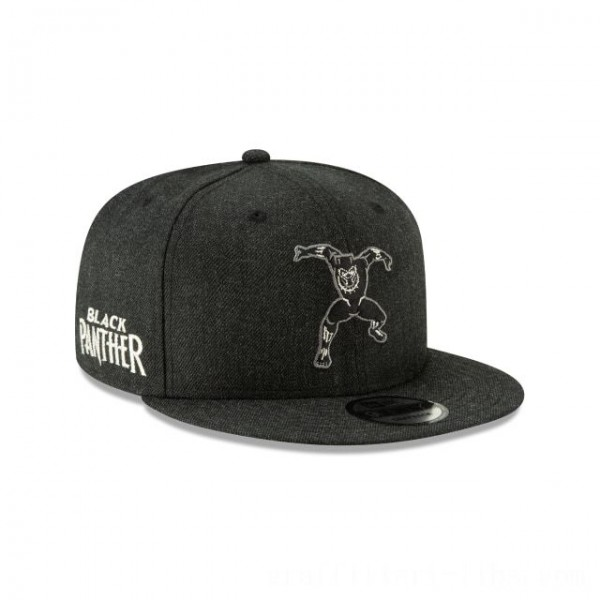 NEW ERA CAP ENTERTAINMENT COLLECTION BLACK PANTHER STANCE 9FIFTY SNAPBACK Sales