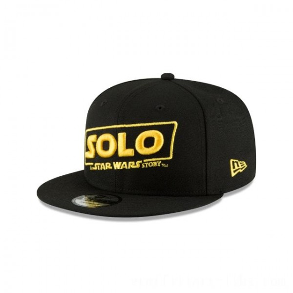 NEW ERA CAP ENTERTAINMENT COLLECTION HAN SOLO A STAR WARS STORY 9FIFTY SNAPBACK Sales
