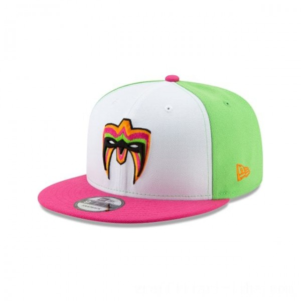 NEW ERA CAP WORLD WRESTLING ENTERTAINMENT ULTIMATE WARRIOR WWE 9FIFTY SNAPBACK Sales
