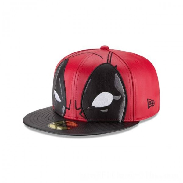 NEW ERA CAP ENTERTAINMENT COLLECTION DEADPOOL 59FIFTY FITTED Sales