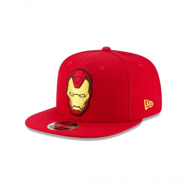 NEW ERA CAP ENTERTAINMENT COLLECTION AVENGERS INFINITY WAR IRON MAN ORIGINAL FIT 9FIFTY SNAPBACK Sales