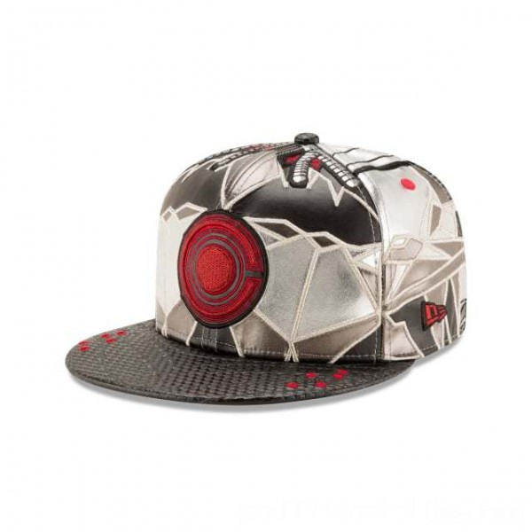 NEW ERA CAP ENTERTAINMENT COLLECTION CYBORG JUSTICE LEAGUE 59FIFTY FITTED Sales