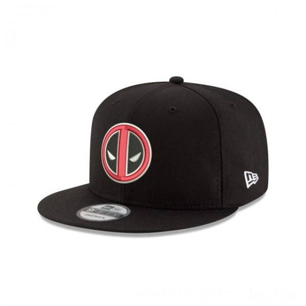 NEW ERA CAP ENTERTAINMENT COLLECTION DEADPOOL 9FIFTY SNAPBACK Sales
